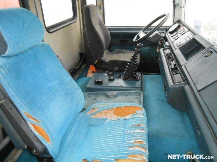 Camion porteur Renault Major Ampliroll Polybenne R330.19 BLANC et ROUGE - 10