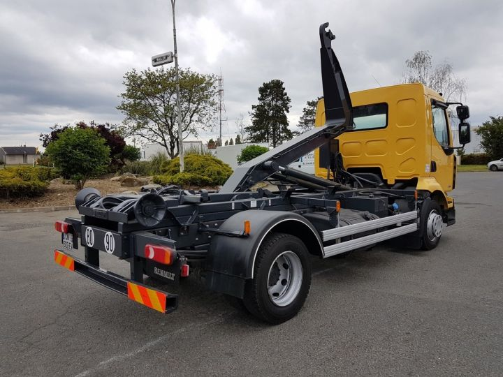 Camion porteur Renault Midlum Ampliroll Polybenne 220dxi.12 MULTILIFT JAUNE - 2