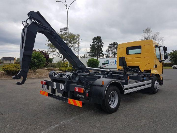 Camion porteur Renault Midlum Ampliroll Polybenne 220dxi.12 MULTILIFT JAUNE - 3