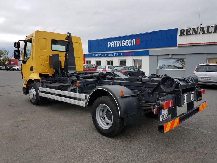 Camion porteur Renault Midlum Ampliroll Polybenne 220dxi.12 MULTILIFT JAUNE Occasion - 6