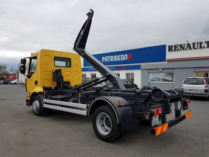 Camion porteur Renault Midlum Ampliroll Polybenne 220dxi.12 MULTILIFT JAUNE Occasion - 7