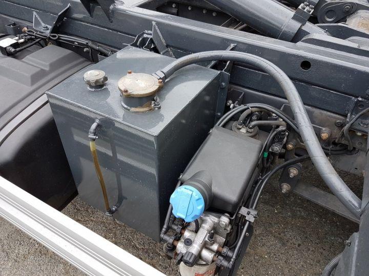 Camion porteur Renault Midlum Ampliroll Polybenne 220dxi.12 MULTILIFT JAUNE - 9