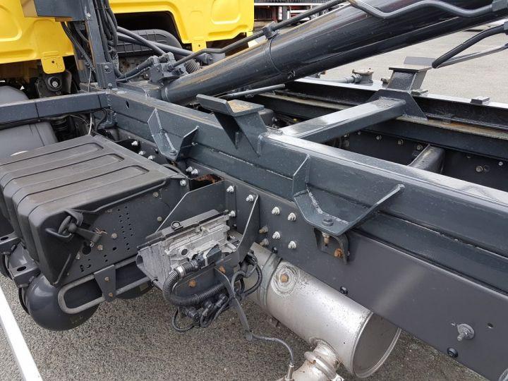 Camion porteur Renault Midlum Ampliroll Polybenne 220dxi.12 MULTILIFT JAUNE - 14