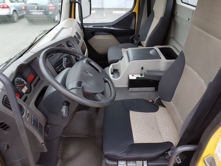 Camion porteur Renault Midlum Ampliroll Polybenne 220dxi.12 MULTILIFT JAUNE - 17