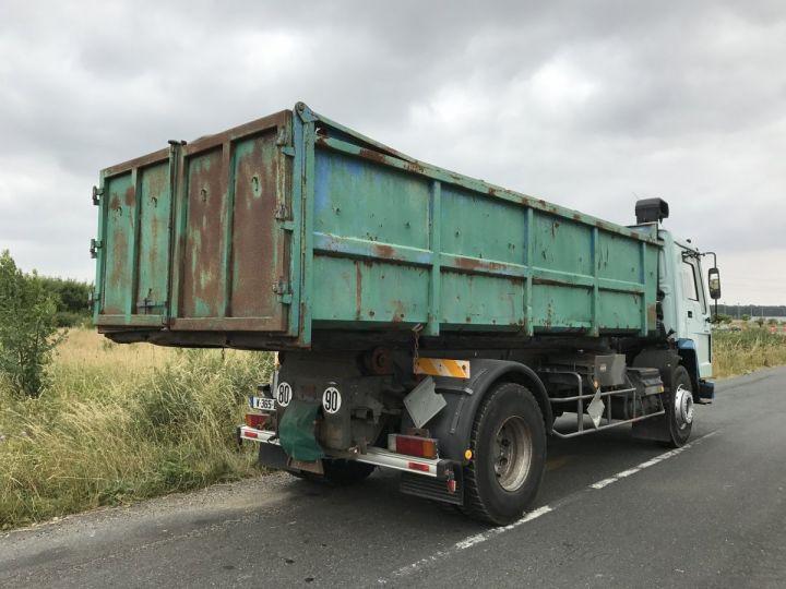 Camion porteur Volvo FL Ampliroll Polybenne 7 F 230 VERT ET BLEU - 2
