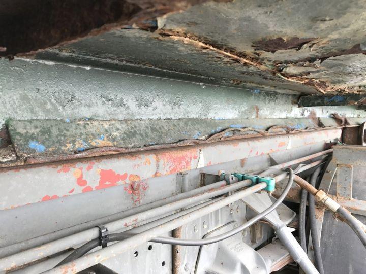 Camion porteur Volvo FL Ampliroll Polybenne 7 F 230 VERT ET BLEU - 17