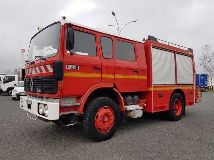 Camion porteur Renault G Autre 230.13 SP - AUTOPOMPE CAMIVA ROUGE POMPIERS - 1