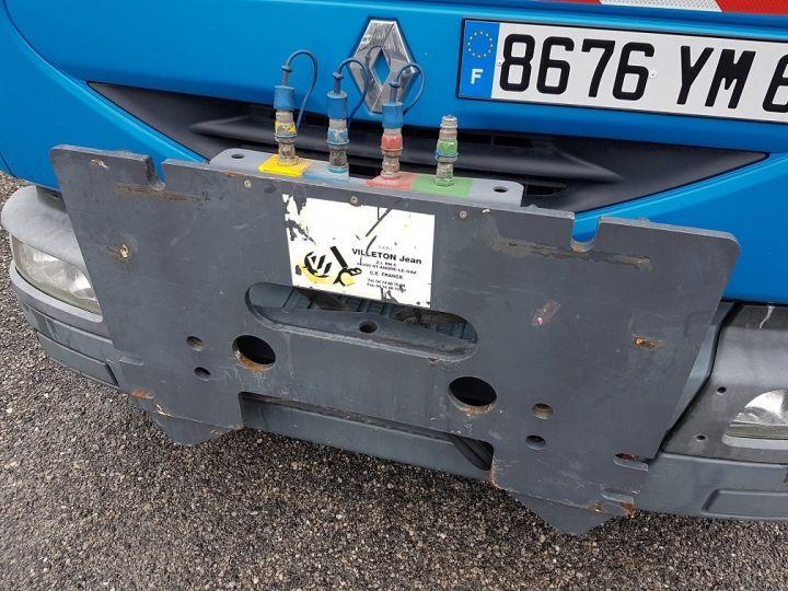 Camion porteur Renault Midlum Benne Double Cabine 220dci.12 TRI-BENNE / 7 PLACES BLEU Occasion - 12