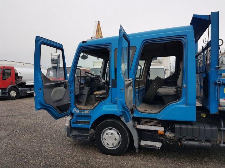 Camion porteur Renault Midlum Benne Double Cabine 220dci.12 TRI-BENNE / 7 PLACES BLEU Occasion - 16