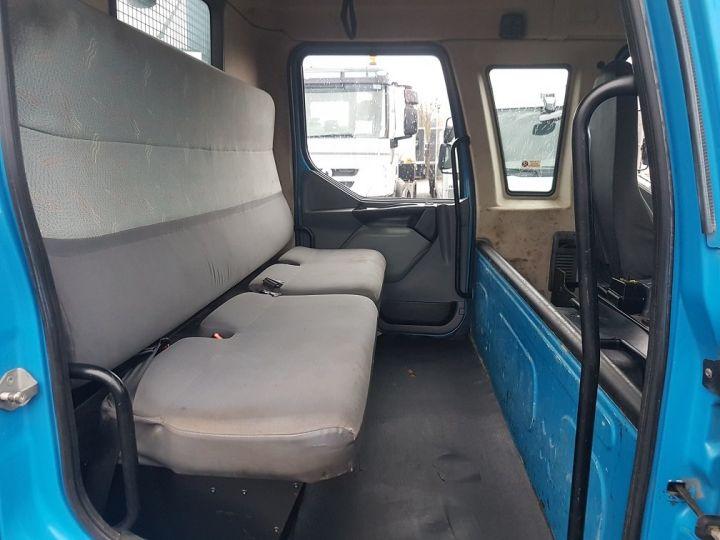 Camion porteur Renault Midlum Benne Double Cabine 220dci.12 TRI-BENNE / 7 PLACES BLEU Occasion - 20