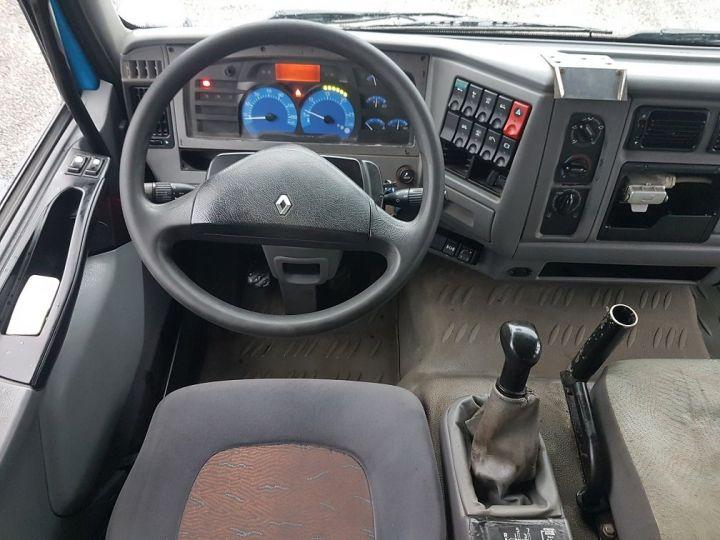 Camion porteur Renault Midlum Benne Double Cabine 220dci.12 TRI-BENNE / 7 PLACES BLEU Occasion - 21