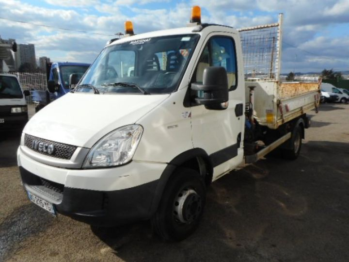 Camion porteur Iveco Daily Benne + grue 65C15 BENNE + GRUE  Occasion - 2