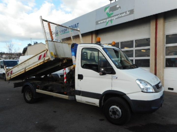 Camion porteur Iveco Daily Benne + grue 65C15 BENNE + GRUE  Occasion - 6
