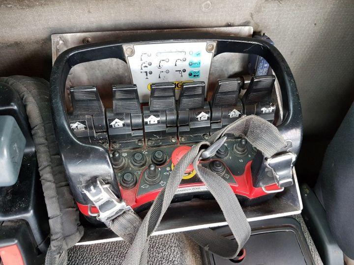 Camion porteur Renault Kerax Benne + grue 370dxi.26 6x4 BI-BENNE + PK 20002 BLANC Occasion - 15
