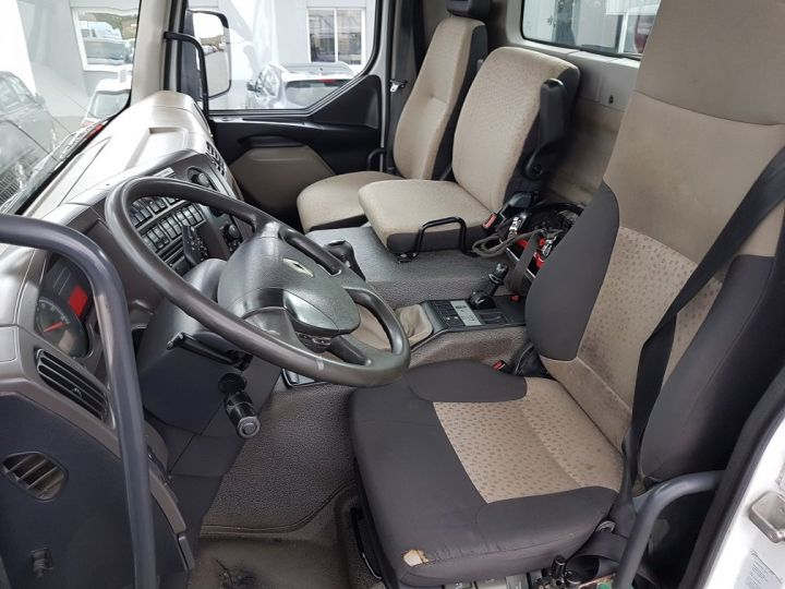 Camion porteur Renault Kerax Benne + grue 370dxi.26 6x4 BI-BENNE + PK 20002 BLANC Occasion - 18