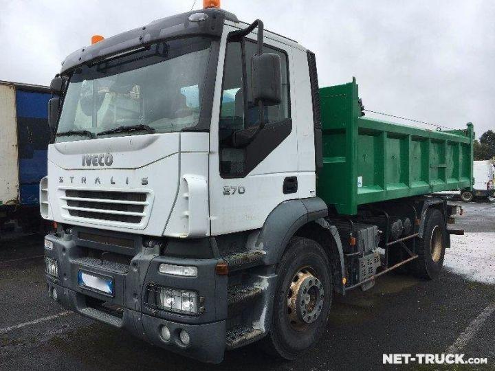 Camion porteur Iveco Stralis Benne arrière  - 1