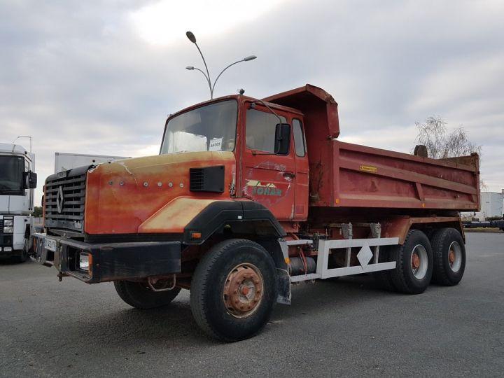 Camion porteur Renault CBH Benne arrière 280 6x4 BENNE MARRON - 1