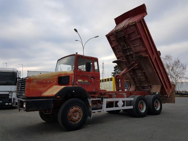 Camion porteur Renault CBH Benne arrière 280 6x4 BENNE MARRON - 2