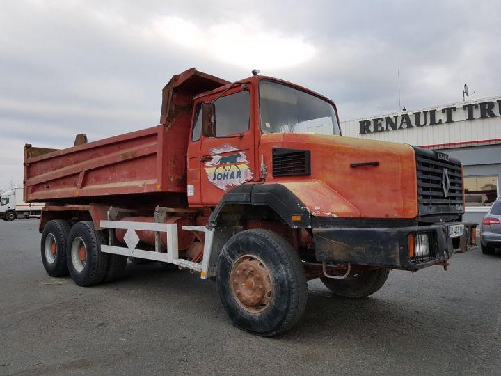 Camion porteur Renault CBH Benne arrière 280 6x4 BENNE MARRON - 6