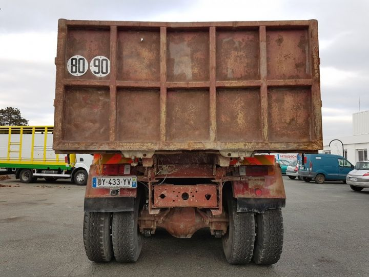 Camion porteur Renault CBH Benne arrière 280 6x4 BENNE MARRON - 9