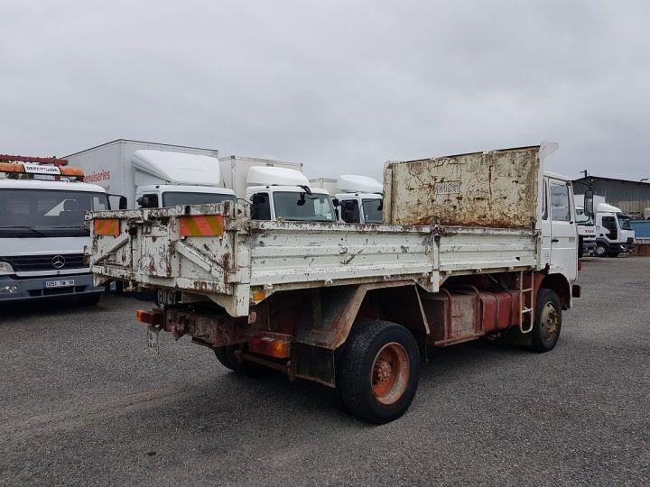 Camion porteur Renault J Benne arrière P 11 BENNE BLANC - 2