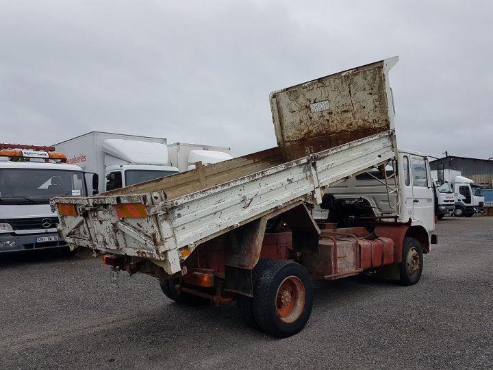 Camion porteur Renault J Benne arrière P 11 BENNE BLANC - 3