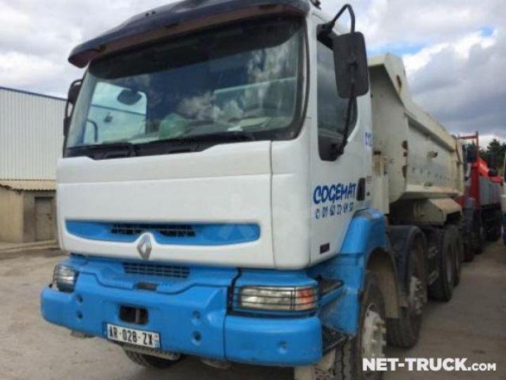 Camion porteur Renault Kerax Benne arrière  - 1