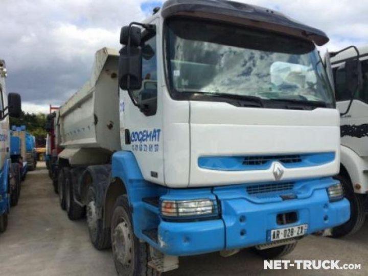 Camion porteur Renault Kerax Benne arrière  - 2