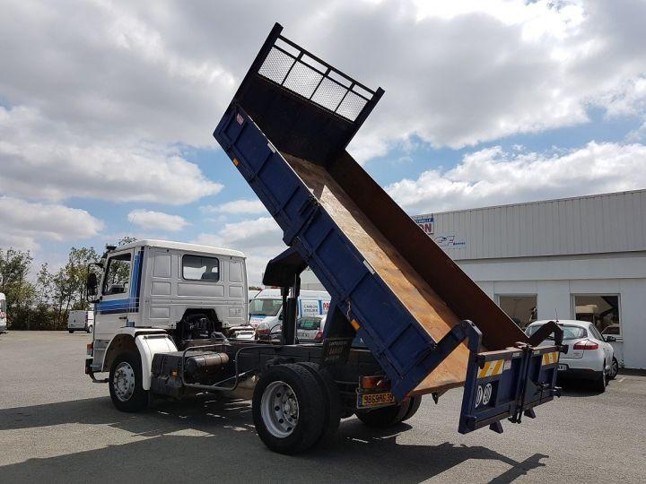 Camion porteur Scania P Benne arrière 93 M 210 BLANC - BLEU Occasion - 7