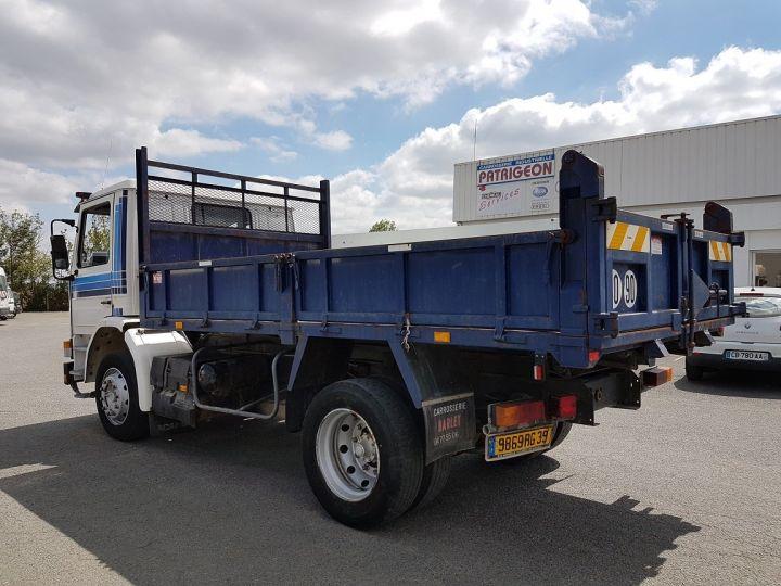 Camion porteur Scania P Benne arrière 93 M 210 BLANC - BLEU Occasion - 8