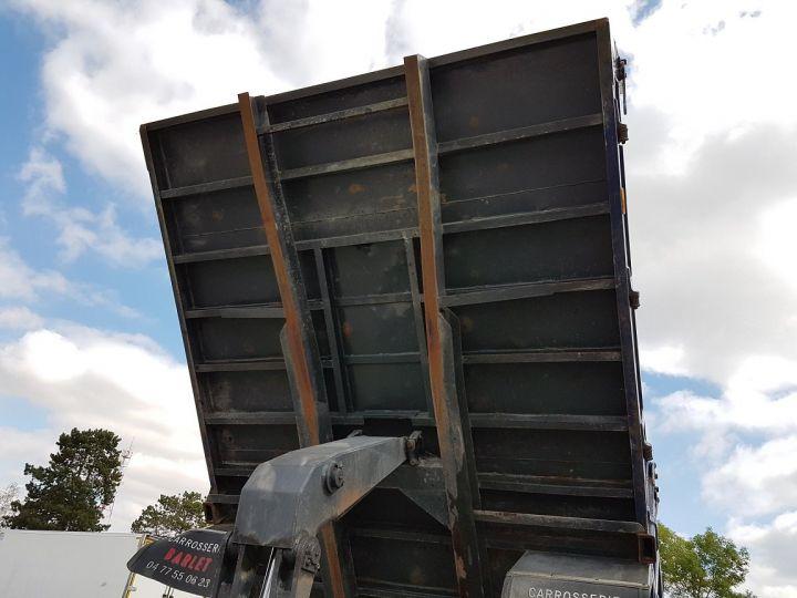 Camion porteur Scania P Benne arrière 93 M 210 BLANC - BLEU Occasion - 14