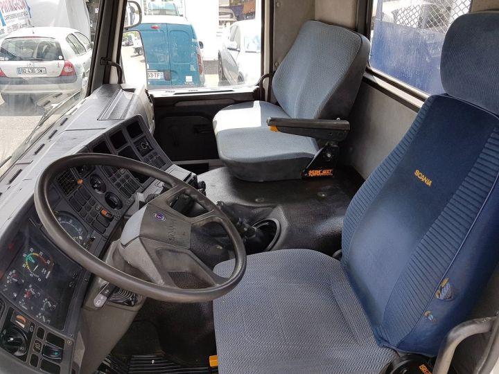 Camion porteur Scania P Benne arrière 93 M 210 BLANC - BLEU Occasion - 20