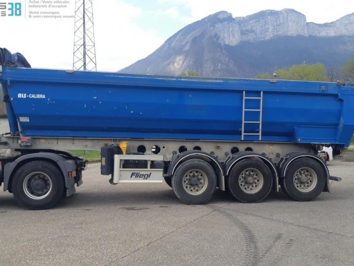 Camion porteur Benne arrière SEMI-REMORQUE BENNE ALU 3 ESSIEUX  - 3