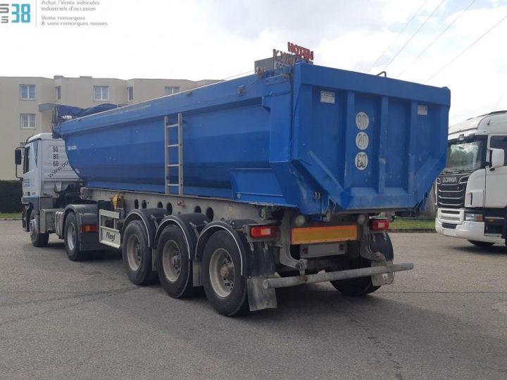 Camion porteur Benne arrière SEMI-REMORQUE BENNE ALU 3 ESSIEUX  - 4