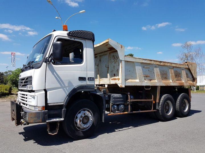 Camion porteur Volvo FM12 Benne arrière .340 6x4 BENNE BLANC - 1