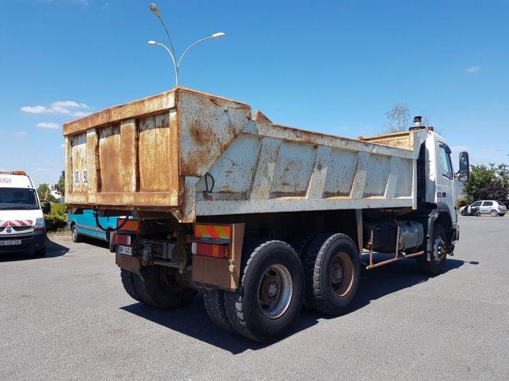 Camion porteur Volvo FM12 Benne arrière .340 6x4 BENNE BLANC - 2