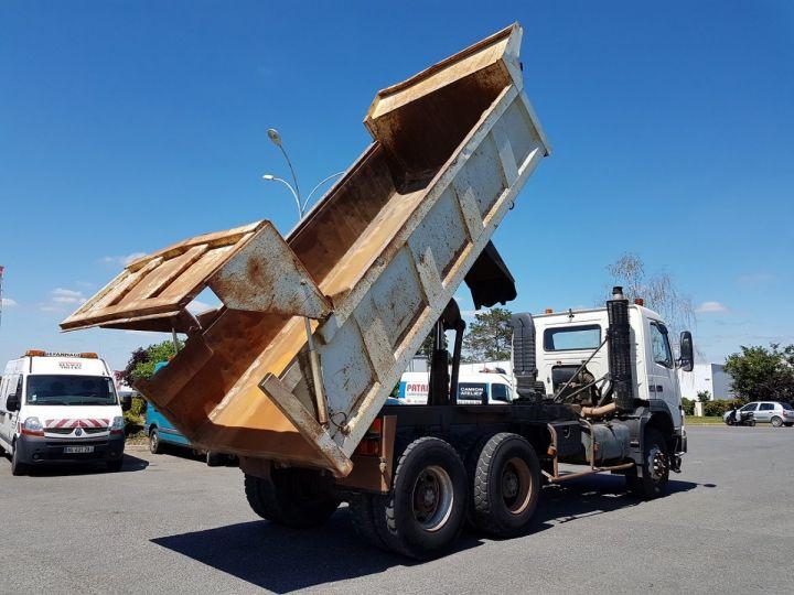 Camion porteur Volvo FM12 Benne arrière .340 6x4 BENNE BLANC - 5