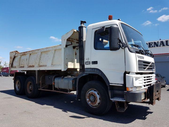 Camion porteur Volvo FM12 Benne arrière .340 6x4 BENNE BLANC - 6