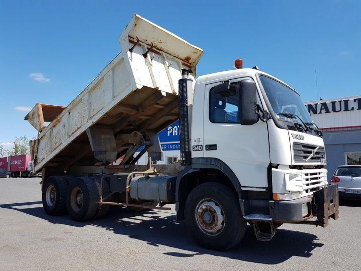 Camion porteur Volvo FM12 Benne arrière .340 6x4 BENNE BLANC - 7