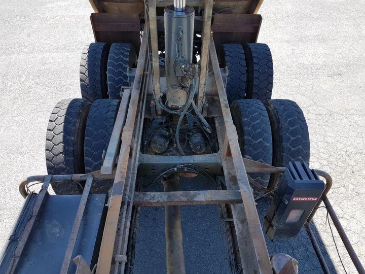 Camion porteur Volvo FM12 Benne arrière .340 6x4 BENNE BLANC - 11