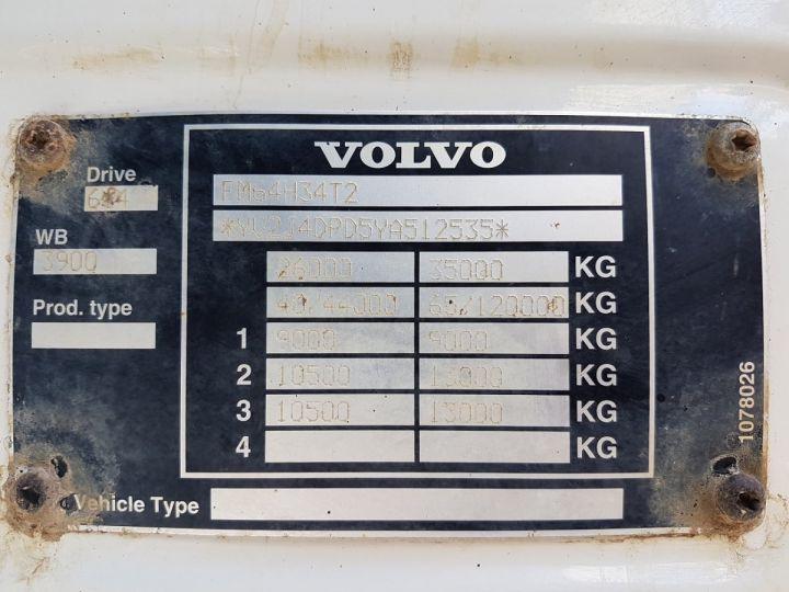 Camion porteur Volvo FM12 Benne arrière .340 6x4 BENNE BLANC - 19