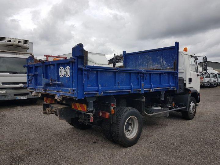 Camion porteur Daf FA55 Bibenne / Tribenne 15.210 ATI BLANC - BLEU Occasion - 2