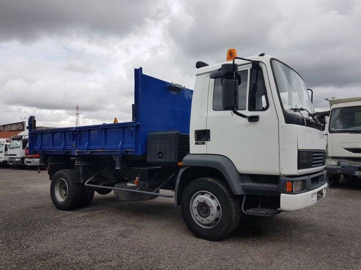 Camion porteur Daf FA55 Bibenne / Tribenne 15.210 ATI BLANC - BLEU Occasion - 4