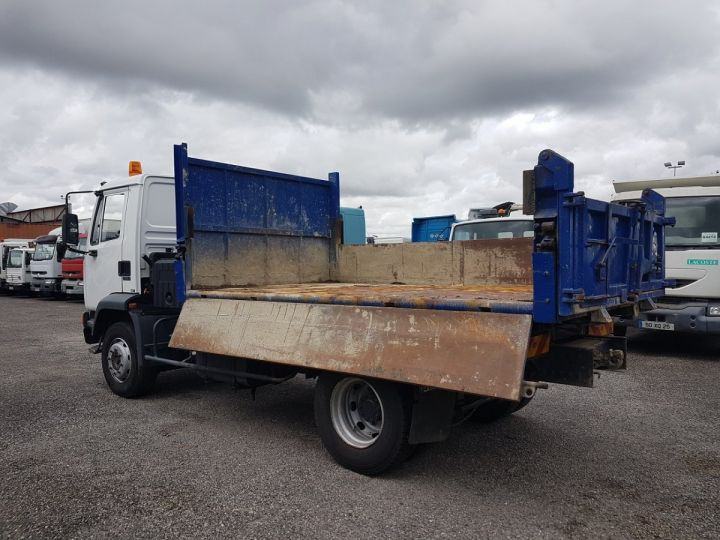 Camion porteur Daf FA55 Bibenne / Tribenne 15.210 ATI BLANC - BLEU Occasion - 6