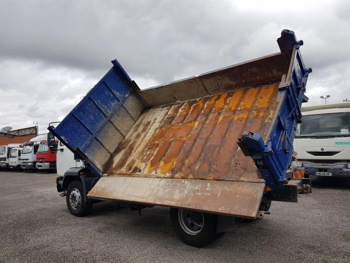 Camion porteur Daf FA55 Bibenne / Tribenne 15.210 ATI BLANC - BLEU Occasion - 7