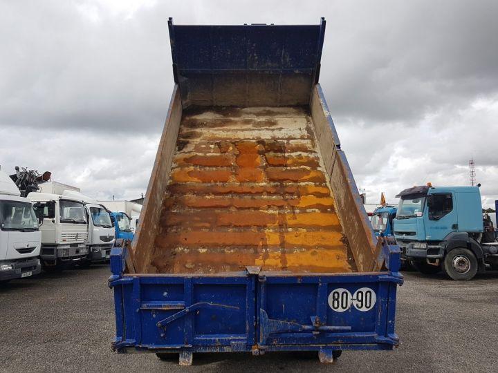 Camion porteur Daf FA55 Bibenne / Tribenne 15.210 ATI BLANC - BLEU Occasion - 8