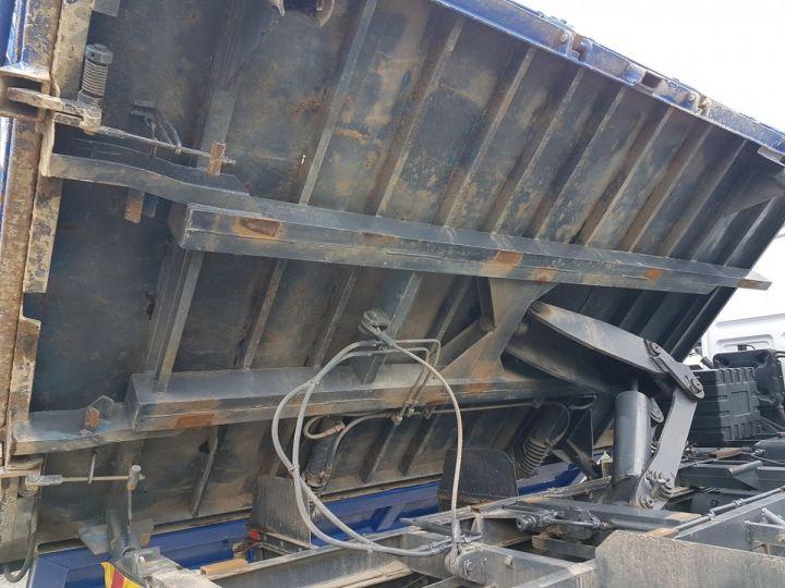 Camion porteur Daf FA55 Bibenne / Tribenne 15.210 ATI BLANC - BLEU Occasion - 10