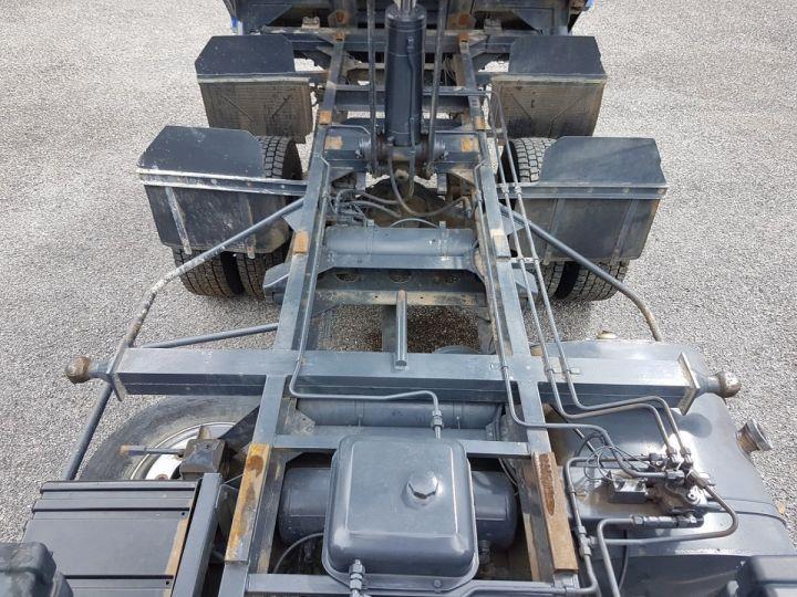 Camion porteur Daf FA55 Bibenne / Tribenne 15.210 ATI BLANC - BLEU Occasion - 11