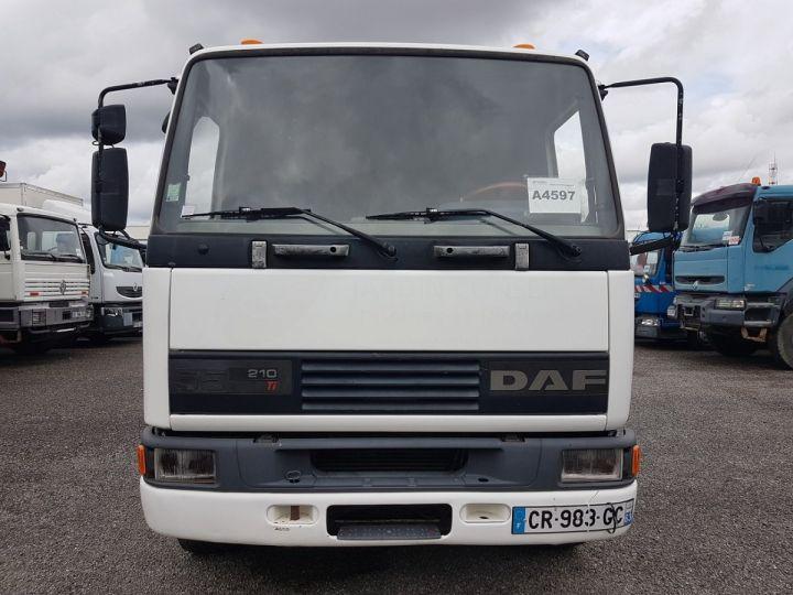 Camion porteur Daf FA55 Bibenne / Tribenne 15.210 ATI BLANC - BLEU Occasion - 13