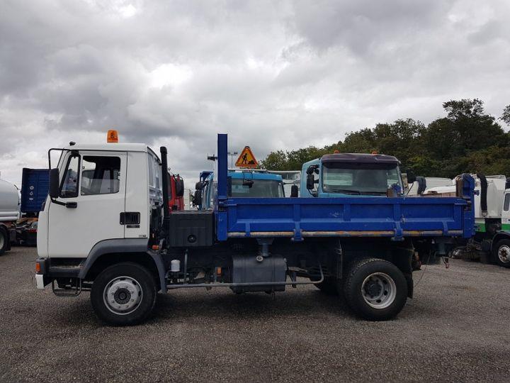 Camion porteur Daf FA55 Bibenne / Tribenne 15.210 ATI BLANC - BLEU Occasion - 21